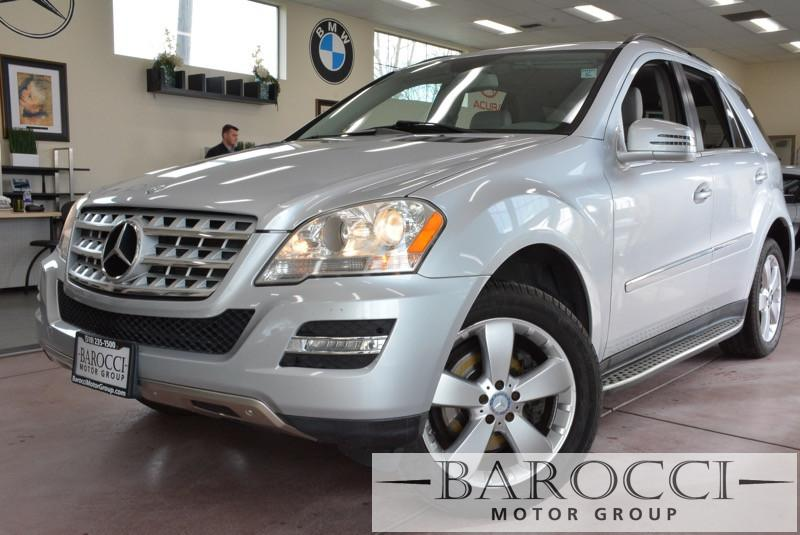 2011 MERCEDES M Class ML350 4D Utility Automatic Silver Silver Fantastic SUV with a ton of room