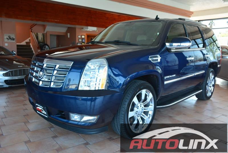 2009 Cadillac Escalade 2WD 6-Speed Automatic Blue Tan Tan Leather Call and ask for details Hu
