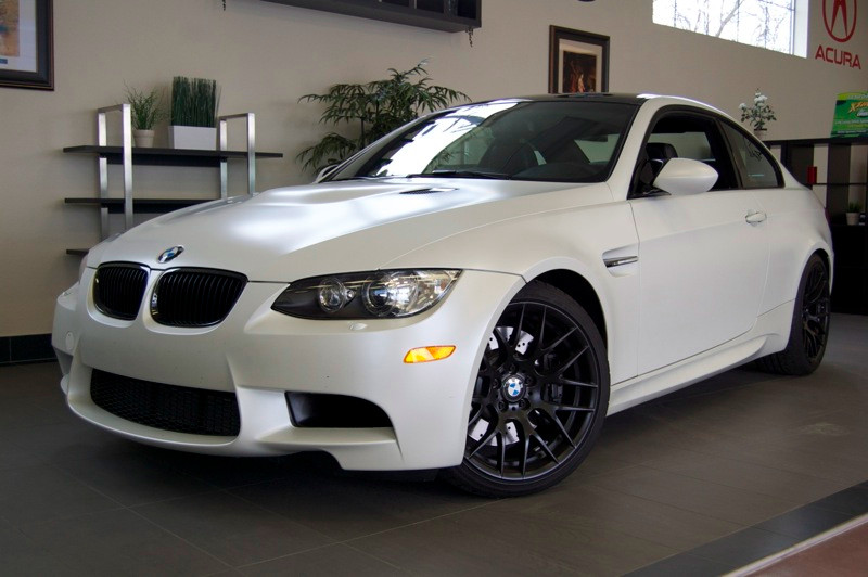 2013 BMW M3 Coupe Competition Package SMG White Black This beautiful 1 Owner M3 with SMG transm