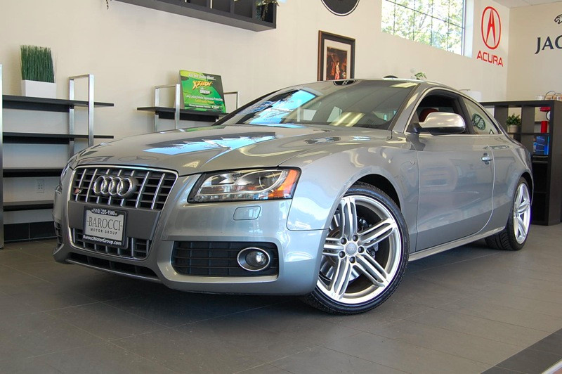 2010 Audi S5 42 quattro Prestige AWD  2dr 6 Speed Auto Gray Brown Comes with a clean Carfax and