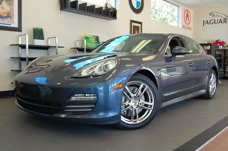 2010 Porsche Panamera 4S 4S Sedan 7 Speed Auto Blue Gray Comes with a clean Carfax and has been