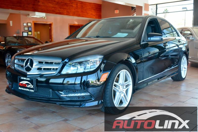 2011 MERCEDES C-Class C300 Luxury Sedan 4D Auto 7-Spd Touch Shift Black Black Locally traded C