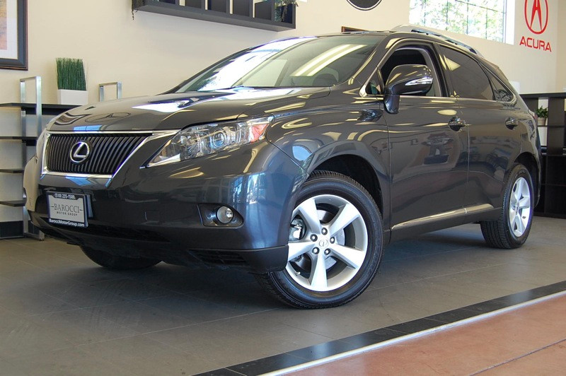 2011 Lexus RX 350 Base AWD Automatic Gray Black This RX300 comes with a clean Carfax report and