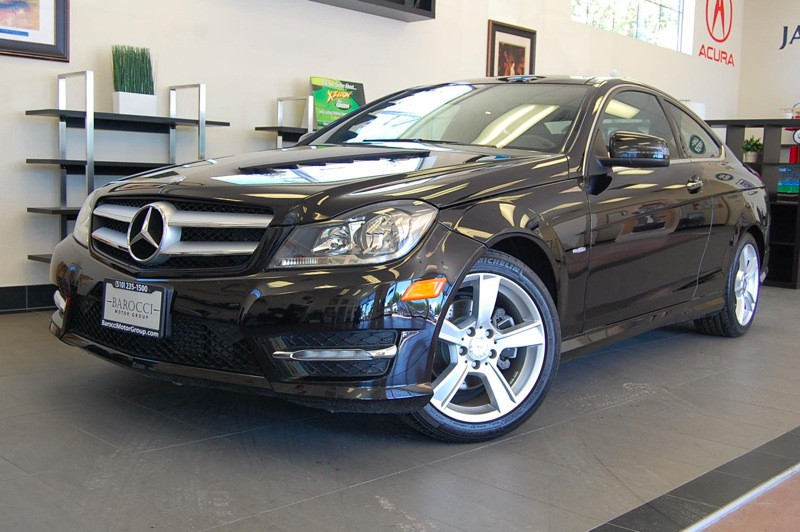 2012 MERCEDES C-Class C250 2dr Coupe 7 Speed Auto Black Black This beautiful One Owner car is ju