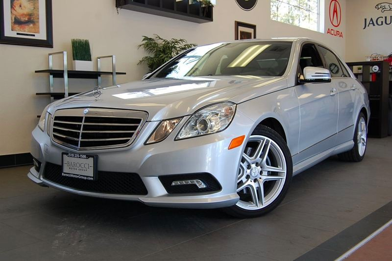 2011 MERCEDES E-Class E350 Luxury 4dr Sedan 7 Speed Auto Silver Black Fantastic E350 sedan with