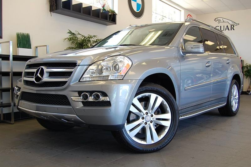 2011 MERCEDES GL-Class GL450 AWD  4MATIC 4dr SUV 7 Speed Auto Silver Black This is a beautiful