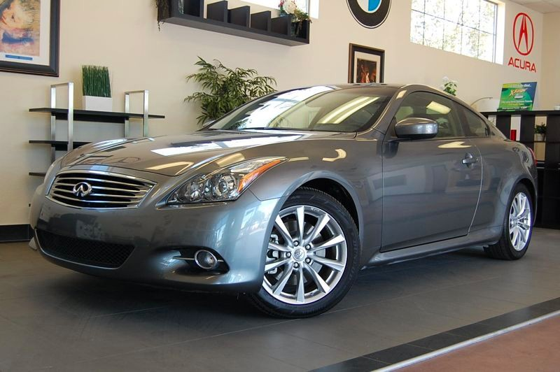 2012 Infiniti G37 Coupe Journey 2dr Coupe 7 Speed Auto Gray Black This is a G 37 Journey Coupe w