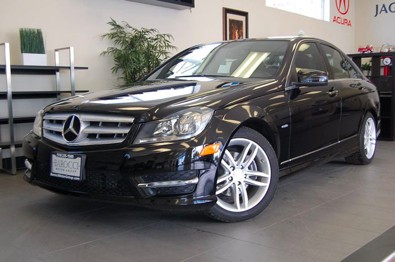 2012 MERCEDES C-Class C250 4dr Sedan 7 Speed Auto Black Black This Mercedes comes equipped with