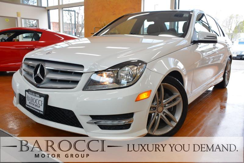 2013 MERCEDES C-Class C250 Sport 4dr Sedan 7 Speed Auto White Black Fantastic C Class with Spor