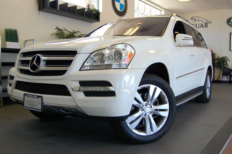 2011 MERCEDES GL-Class GL450 AWD  4MATIC 4dr SUV 7 Speed Auto White Charcoal Comes with a clean