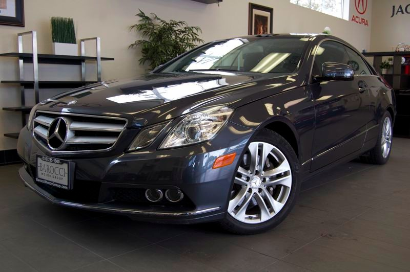 2011 MERCEDES E-Class E350 2dr Coupe 7 Speed Auto Gray Tan Amazing car with a clean Carfax repor