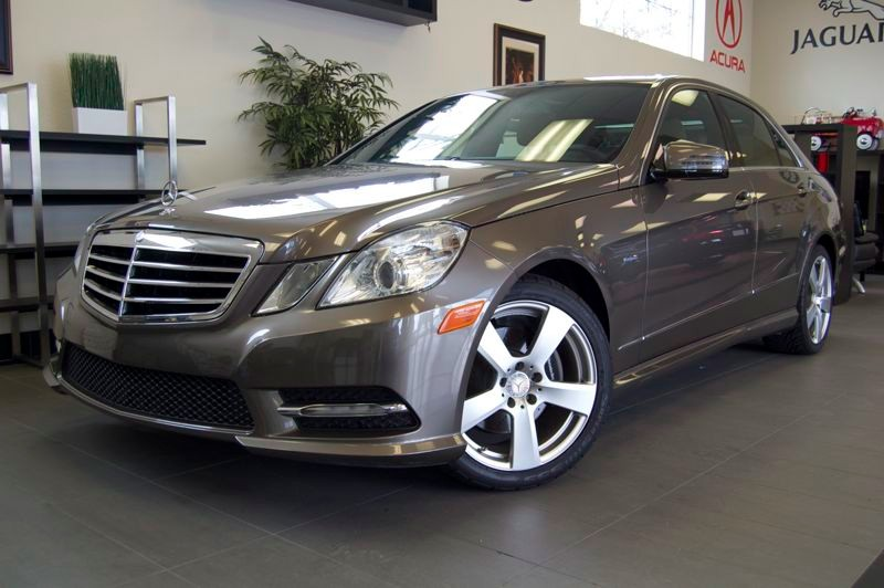 2012 MERCEDES E-Class E350 Sport 4dr Sedan 7 Speed Auto Gray Tan This is a very well equipped E-