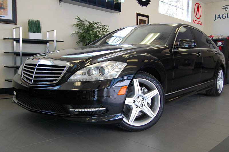 2010 MERCEDES S-Class S550 4dr Sedan 7 Speed Auto Black Tan Beautiful one owner vehicle with a c