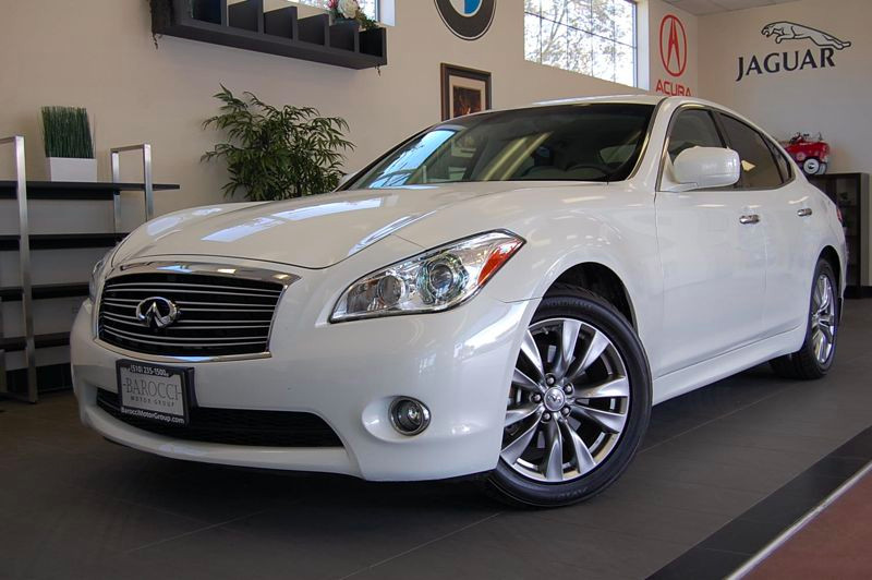 2012 Infiniti M37 4D Sedan Automatic White Tan This is a beautiful car in fantastic condition w