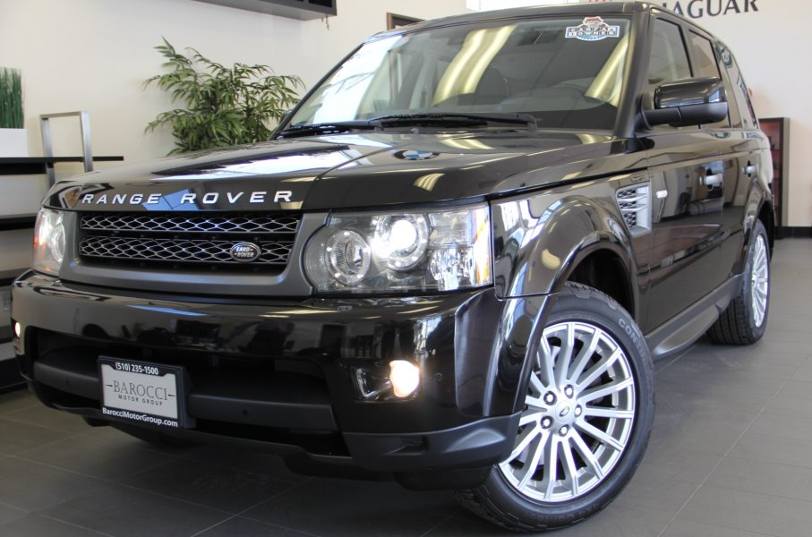 2011 Land Rover Range Rover Sport HSE 4x4  4dr SUV 6 Speed Auto Black Black This is a fully equi
