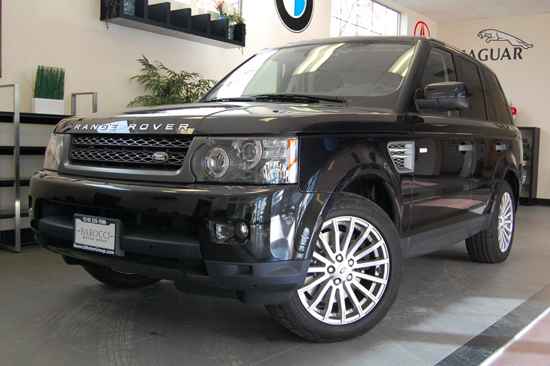 2011 Land Rover Range Rover Sport HSE 4x4  4dr SUV 6 Speed Auto Black Black Amazing one owner Ra