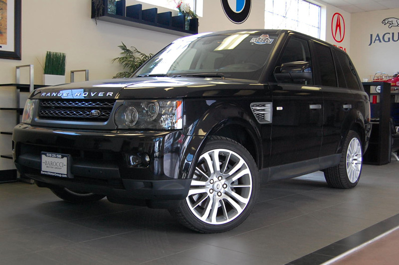 2011 Land Rover Range Rover Sport-LU HSE 4x4 4dr SUV 5 Cameras 6 Speed Auto Black Black Immacu