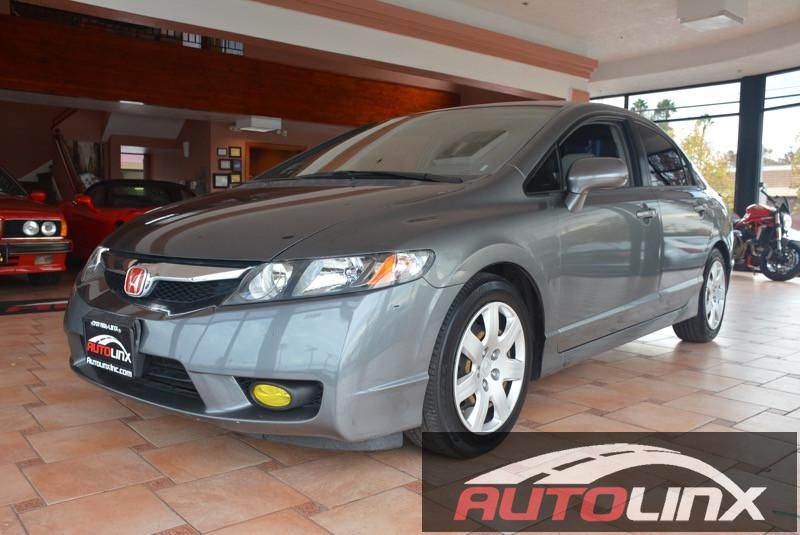 2010 Honda Civic LX 4dr Sedan Automatic Gray Gray Gray Call us now You NEED to see this car