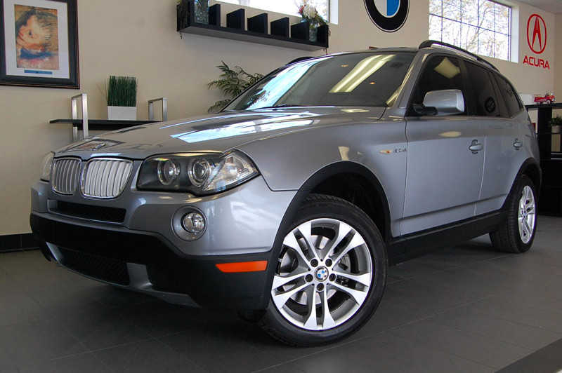 2007 BMW X3 30si 4dr SUV AWD Automatic Silver Fabulous X3 AWD SUV with Bluetooth Navigation He