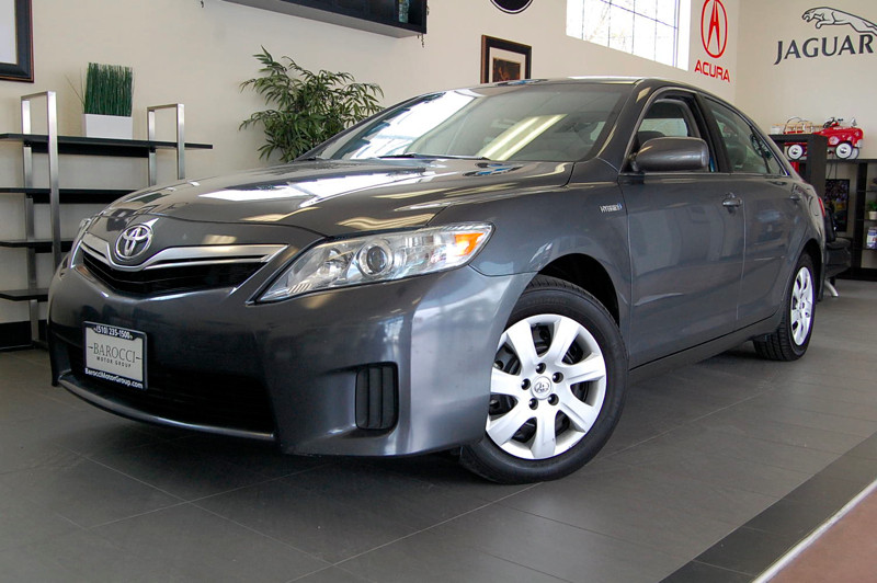 2011 Toyota Camry Hybrid Base 4dr Sedan 6-Speed Automatic  Gray Gray Wonderful Camry Hybrid with