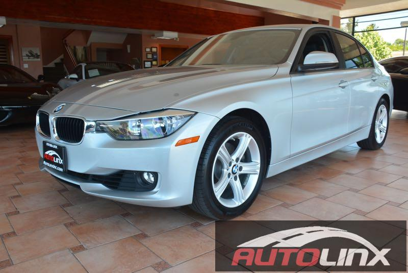 2013 BMW 3-Series 328i Sedan Automatic Silver Black Bluetooth Hands-Free Portable Audio Conne