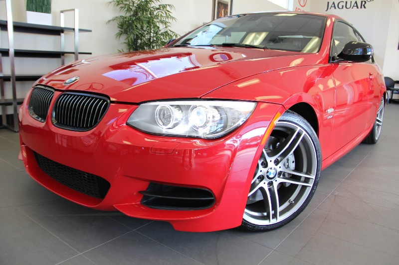 2011 BMW 3 Series 335is 2dr Coupe Automatic Red Tan This is a beautiful BMW Twin Turbo 335IS no