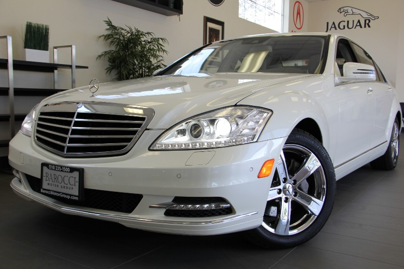 2011 MERCEDES S-Class S550 4dr Sedan 7 Speed Auto White Child Safety Door Locks Power Door Locks