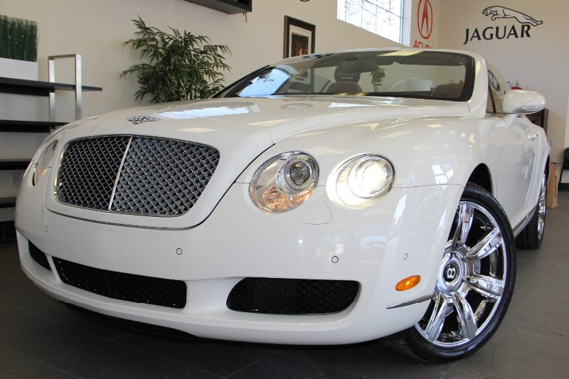 2008 Bentley Continental GTC 2dr Convertible AWD 6 Speed Auto White Brown Immaculate Bentley ha
