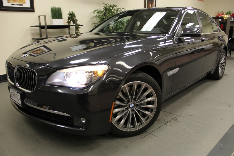 2012 BMW 7 Series 740i 4dr Sedan Great Features Automatic Gray Brown An amazing luxury sedan wi