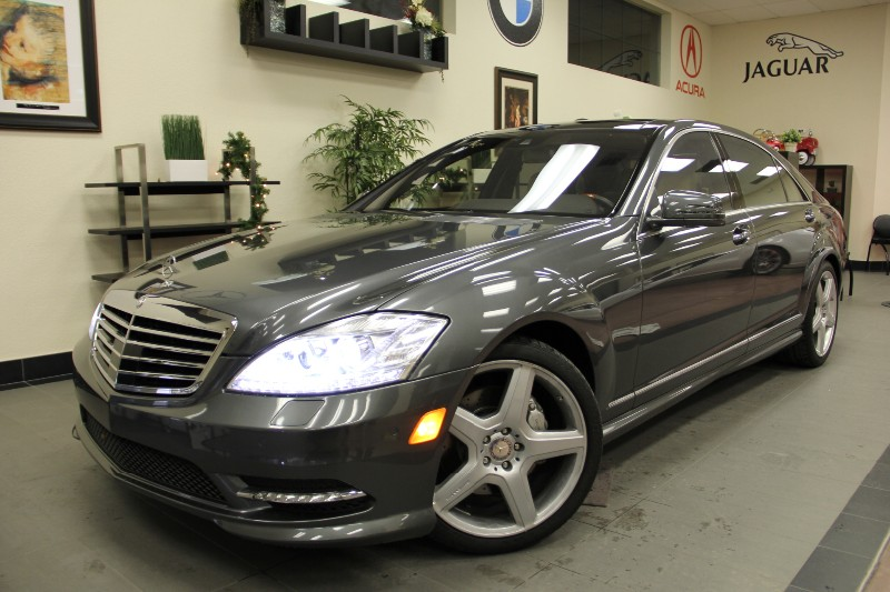 2013 MERCEDES S-Class S550 Sedan Designo Edition Automatic Gray Beige Beautiful Designo Editio