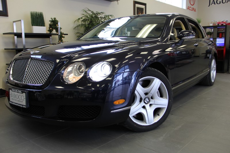 2006 Bentley Continental Flying Spur 4dr Sedan AWD Automatic Blue Beige This is a beautiful vehi
