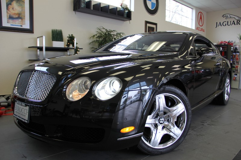 2005 Bentley Continental GT Base 2dr Coupe Automatic Black Gray This Black Bentley with this kin