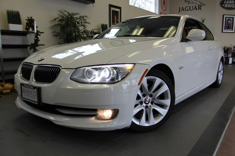 2012 BMW 3 Series 328i 2dr Coupe Unique Interior Automatic White Red This is a beautiful car in