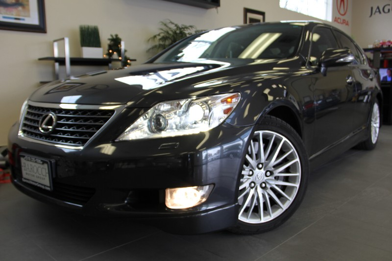 2010 Lexus LS 460-Sport Pkg Base 4dr Sedan Premium Sound 8 Speed Auto Gray Black Includes some