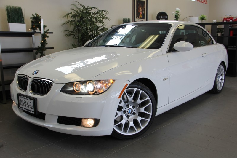 2007 BMW 3 Series 328i Convertible Sport PKG  Automatic White Brown Very nice convertible with