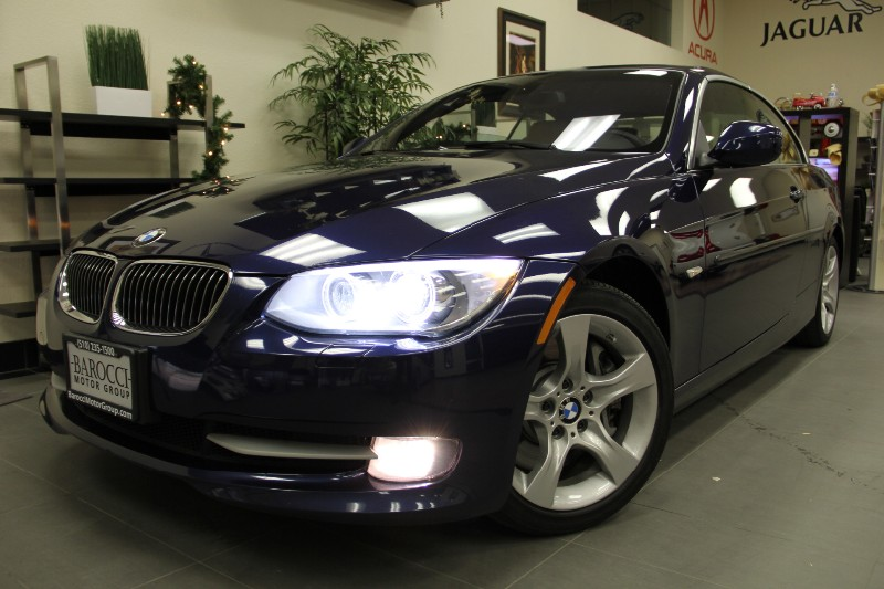 2011 BMW 3 Series 335i Convertible Navigation Automatic Blue Tan Get ready for spring in this