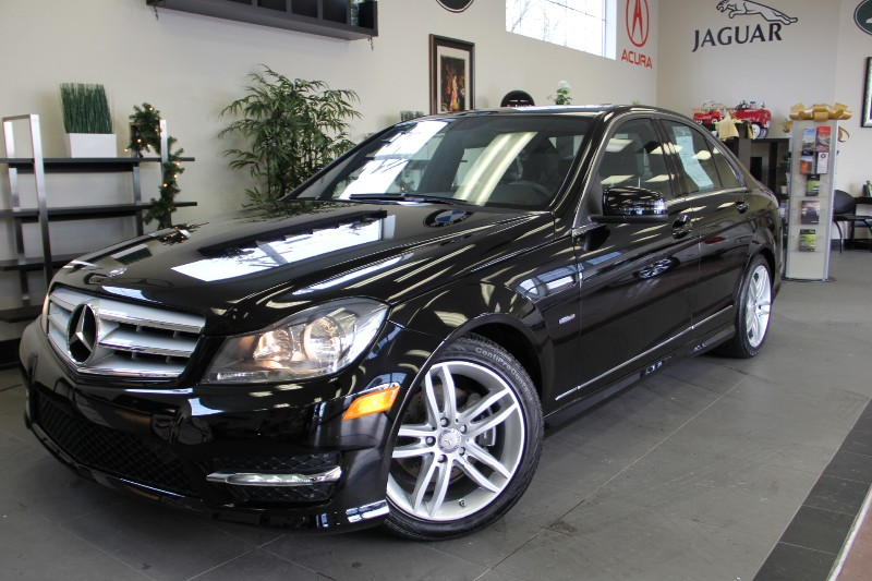 2012 MERCEDES C-Class C250 SPORT  Premium Sound Sys Automatic Black Black Why buy brand new whe