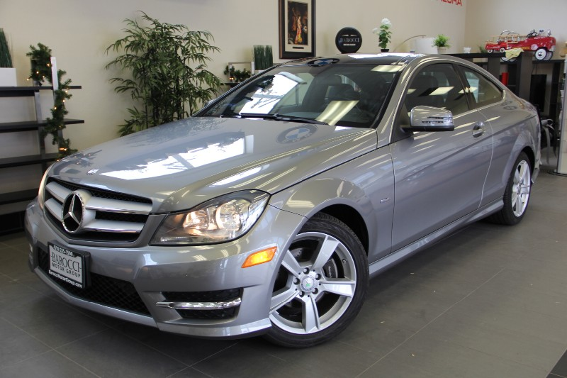 2012 MERCEDES C-Class C250 Coupe-Navigation Automatic Gray Black This beautiful One Owner car ge