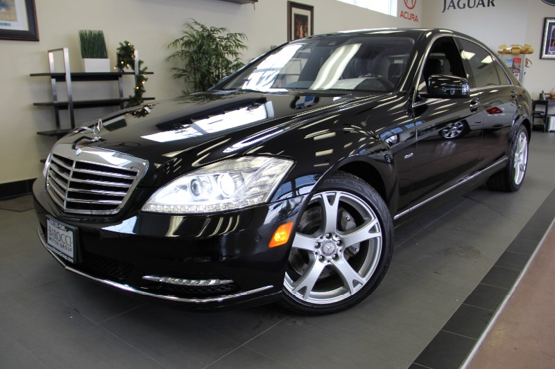2012 MERCEDES S-Class S550 4dr Sedan 7 Speed Auto Black ABS Air Conditioning Alarm Alloy Wheel