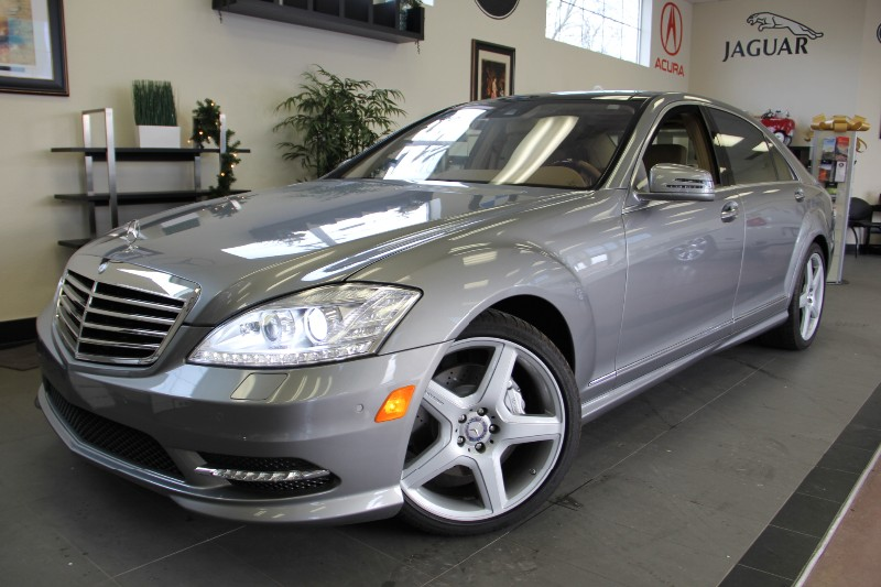 2013 MERCEDES S-Class S550 4dr Sedan 7 Speed Auto Silver Turbocharged Engine 4 7L V 8 DOHC and v