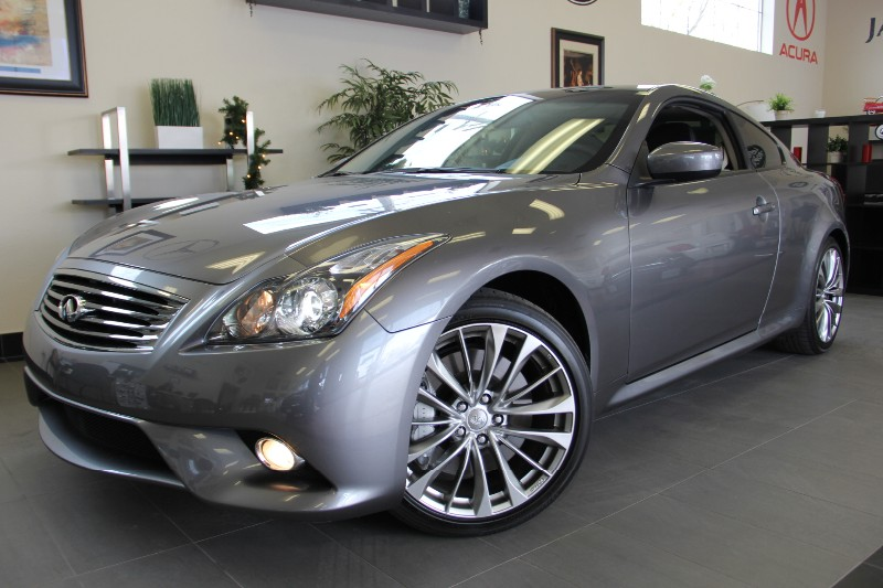 2013 Infiniti G37 SPORTCoupe Sport Navi-Camera Automatic Gray Black Beautiful 1 Owner car with