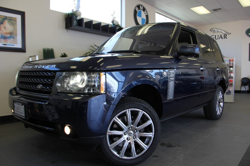 2011 Land Rover Range Rover HSE 4x4  4dr SUV Automatic Blue Tan This is a beautiful vehicle in g