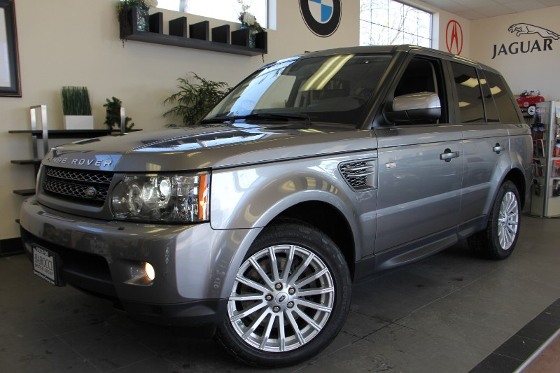 2011 Land Rover Range Rover Sport HSE 4x4 4dr SUV Automatic Gray Black This is a fully equipped