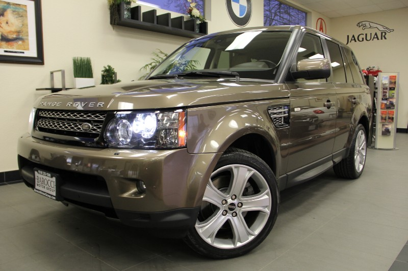 2012 Land Rover Range Rover Sport HSE LUX 4x4 Automatic Bronze Tan Beautiful Luxury Edition mode