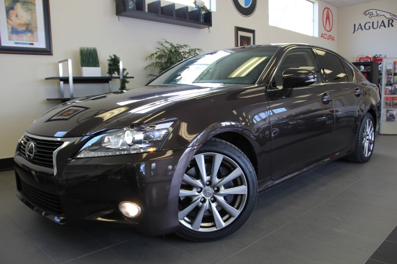 2013 Lexus GS 350 Base 4dr Sedan Automatic Dk Brown Brown Comes with a clean Carfax and is a on