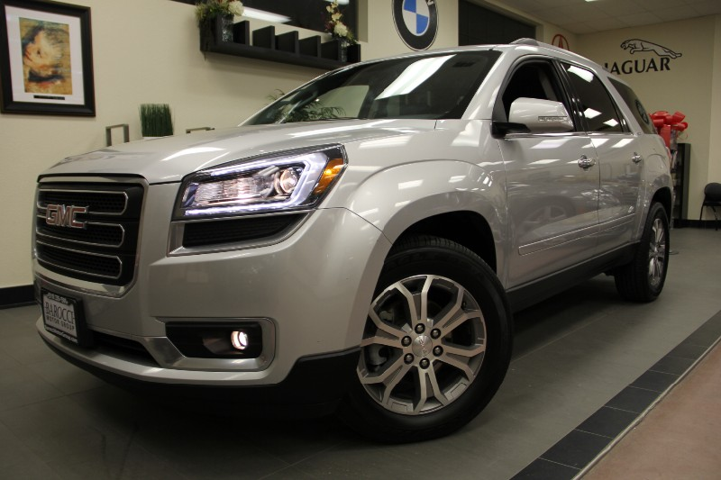 2013 GMC Acadia SLT-1 4dr SUV Automatic Silver Black This is a beautiful Acadia in great conditi