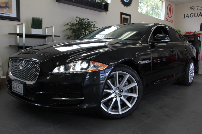 2012 Jaguar XJ 4dr Sedan Automatic Black Black California owned with Navigation Parking Camera