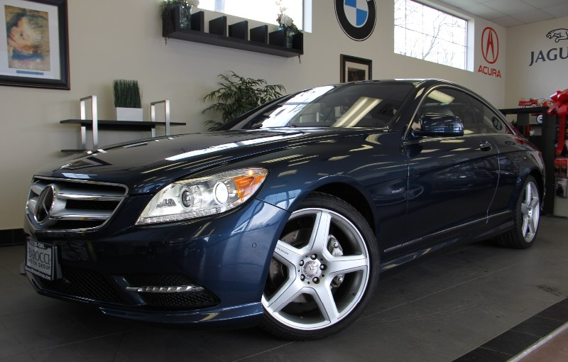 2011 MERCEDES CL-Class CL550 4MATIC Night Vision Automatic Blue Tan This Unique CL Mercedes Be
