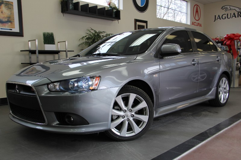 2012 Mitsubishi Lancer Ralliart AWD 4dr Turbo Sedan Automatic Silver Black This is a beautiful T