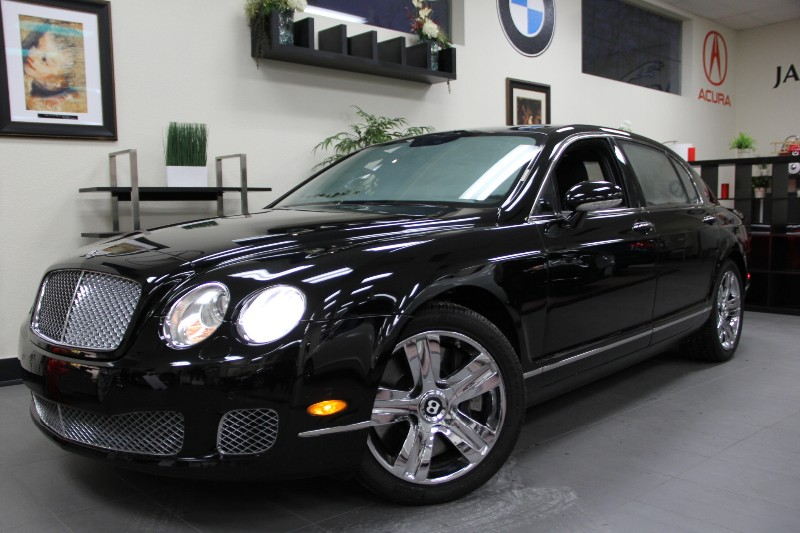 2009 Bentley Continental Flying S Sedan 4dr AWD Automatic Black Black This Beautiful Bentley Has